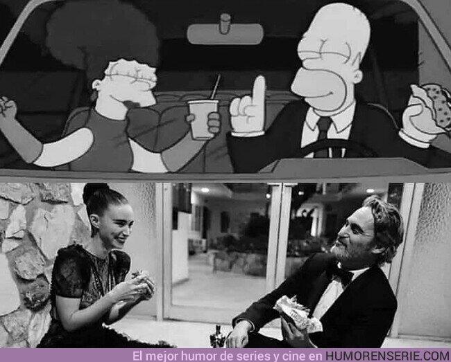 47376 - Los Simpson predijeron a Rooney Mara y Joaquin Phoenix