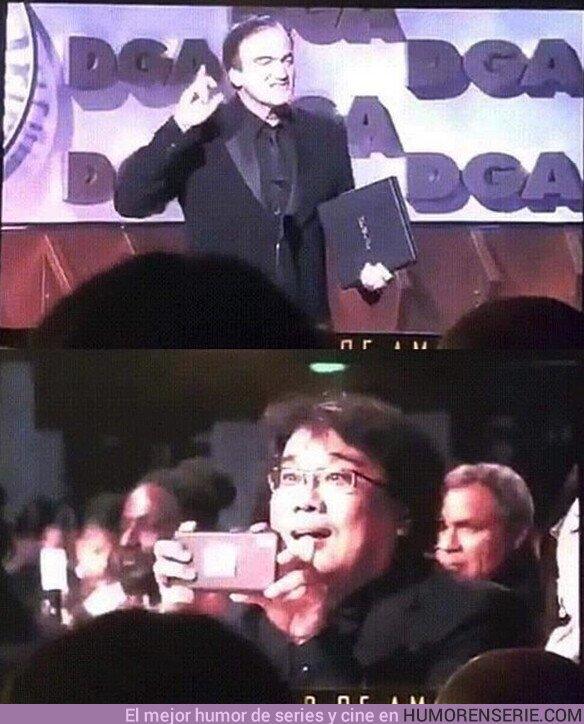 47506 - Quedate con quien te mire como Boon Jong-ho a Tarantino.