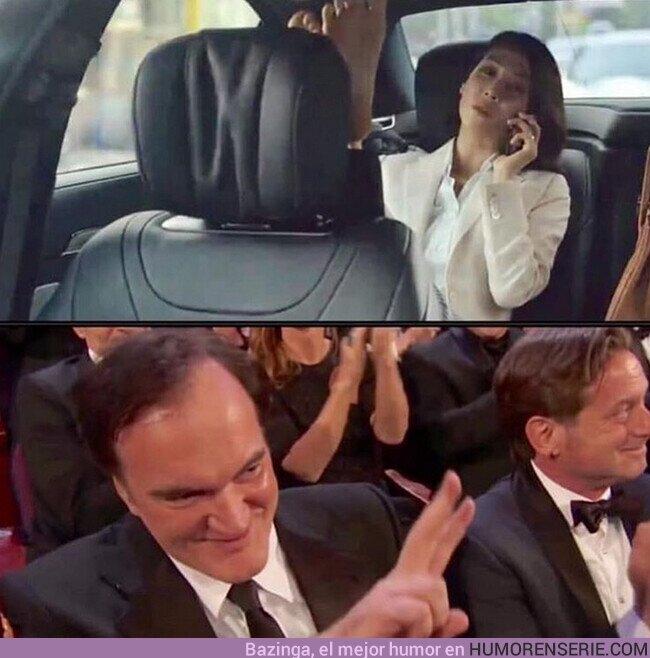 47603 - Tarantino aprueba todo lo que sean pies
