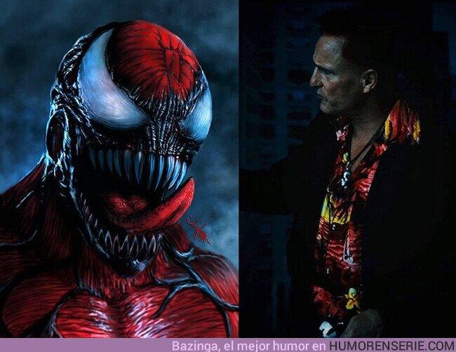 47700 - Woody Harrelson como Carnage en Venom 2