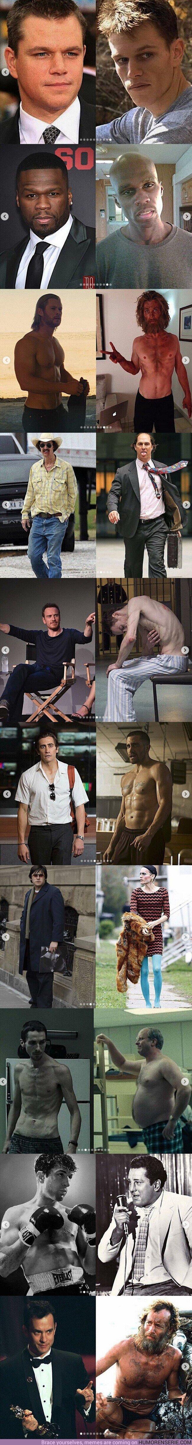 47737 - Las transformaciones de actores más alucinantes. ¿Cuál es tu favorita?