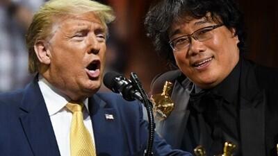 47789 - El discurso de Donald Trump rajando de Parasitos por ser una película surcoreana