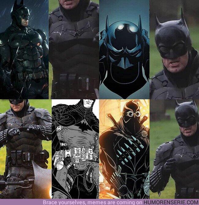 47870 - El nuevo traje tiene un montón de referencias