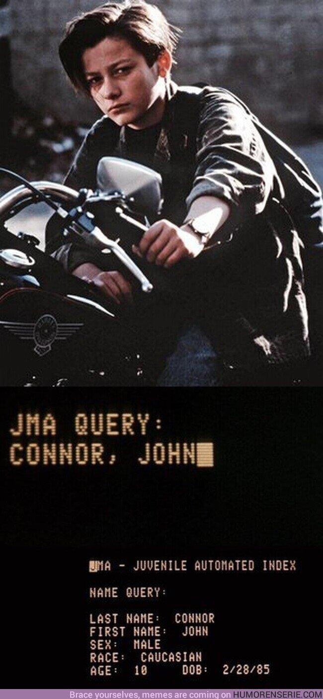 """48077 - Hoy cumpliría 35 años John Connor, líder de """"La resistencia""""."""