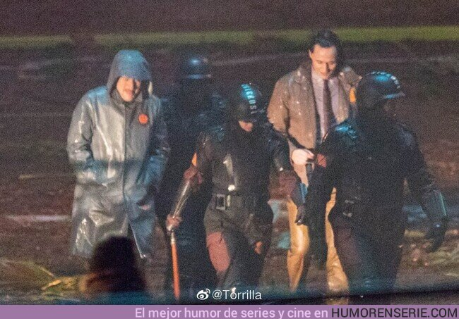 """48315 - Primeras imágenes de Tom Hiddleston para la serie de """"Loki"""""""