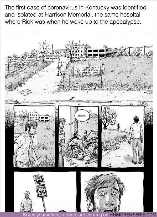 48423 - The Walking Dead tiene una soprendente conexión con el coronavirus