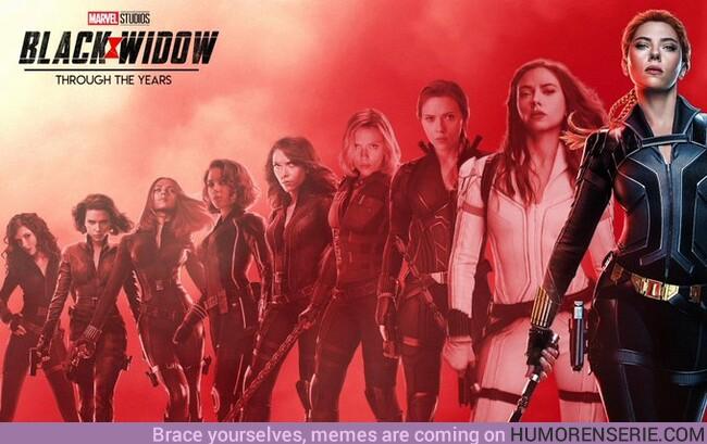 49087 - Black Widow a lo largo de los años