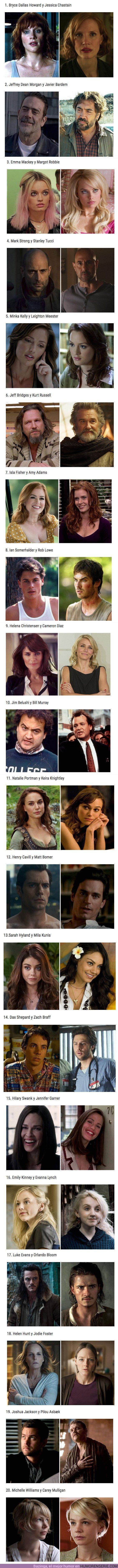 49553 - GALERÍA: Estos 20 actores de Hollywood son tan parecidos que podrían pasar por hermanos