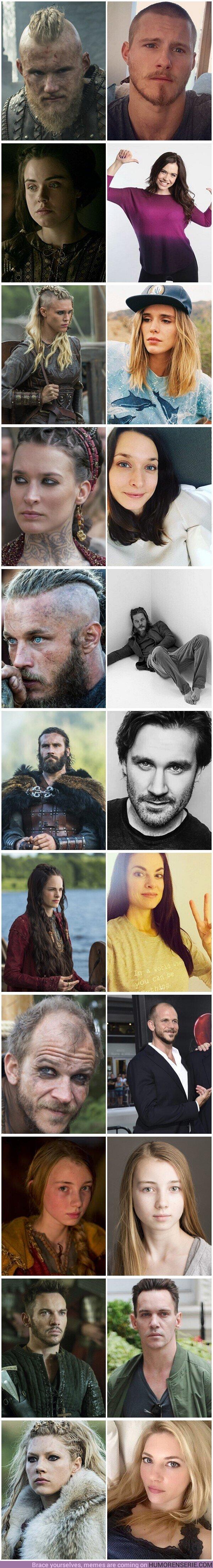 49803 - GALERÍA: Así son los actores de Vikings en la vida real
