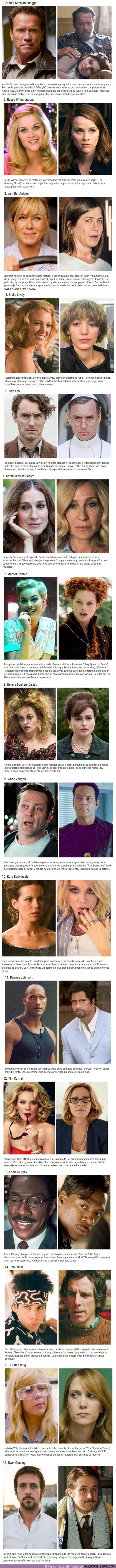 50766 - 16 actores que sorprendieron a todo el mundo con papeles que no les pegaban NADA