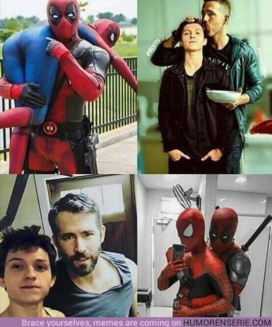 51747 - La prueba de que Deadpool ama a Spider-man