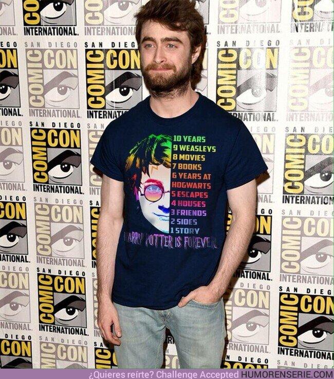51861 - Fan de Daniel Radcliffe y su camiseta