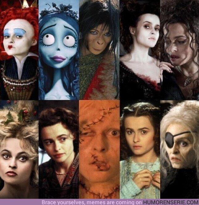 51978 - Hoy cumple 54 años la polifacética e increíble Helena Bonham Carter. Felicidades.
