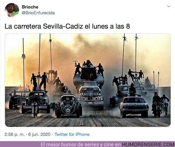 52379 - El coronavirus ha convertido España en Mad Max