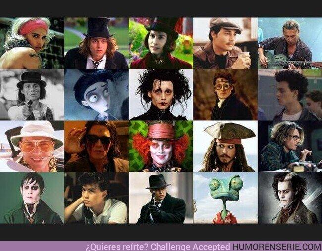 52458 - Hoy cumple 57 años el camaleónico Johnny Depp. Felicidades