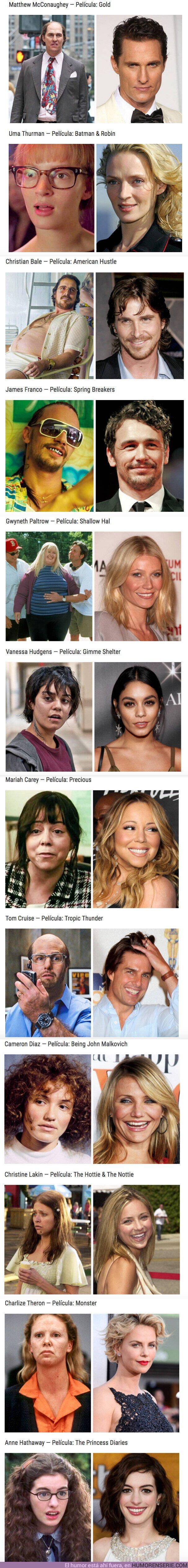 52487 - GALERÍA: 12 actores y actrices que nos dejaron con la boca abierta con su cambio físico para conseguir un papel