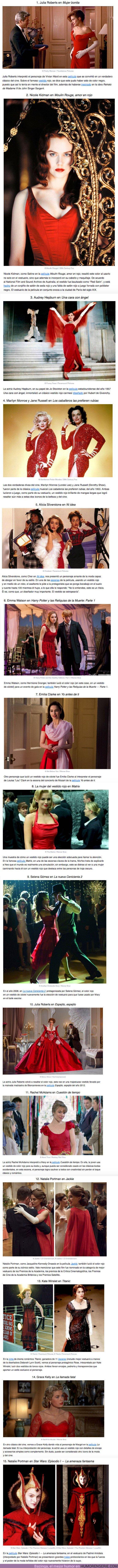 52837 - GALERÍA: Los 15 vestidos más icónicos de la historia del cine