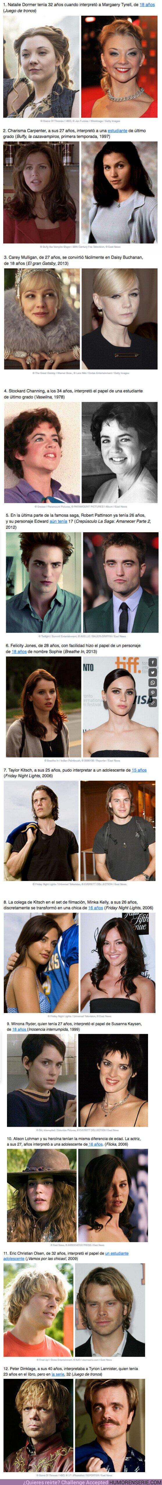 52912 - GALERÍA: 12 actores y actrices que intepretaron personajes MUCHO más jóvenes sin que se notara