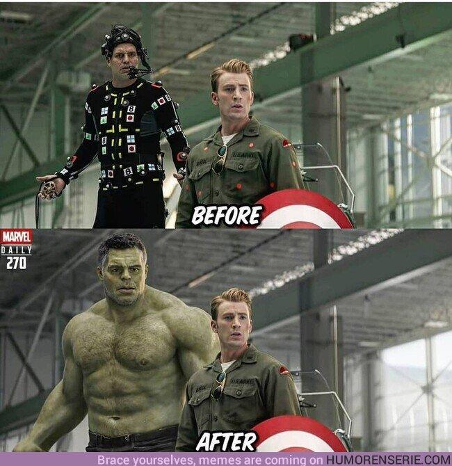 53631 - Hulk sin transformación no impone nada de nada