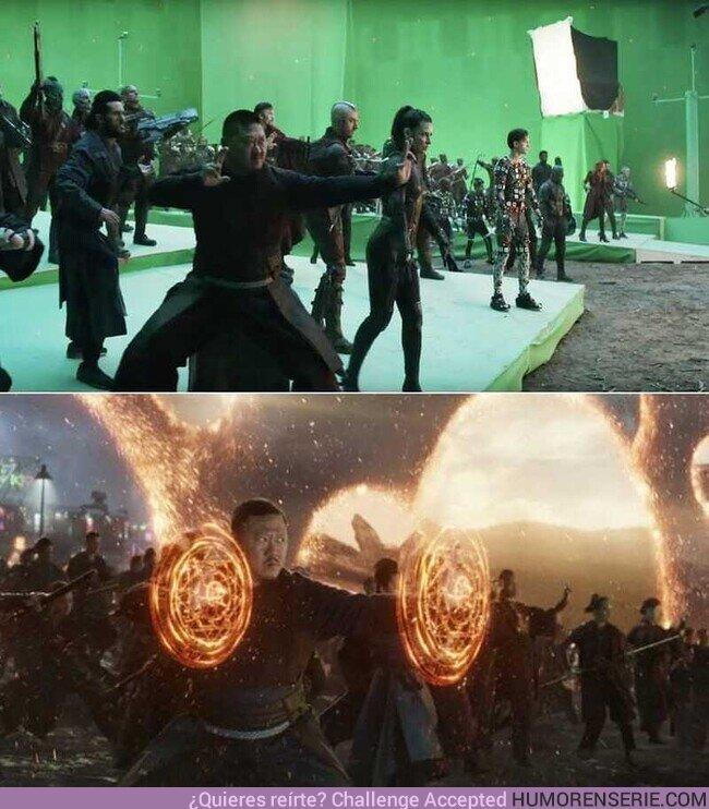 54071 - Avengers: Endgame detrás de la escena