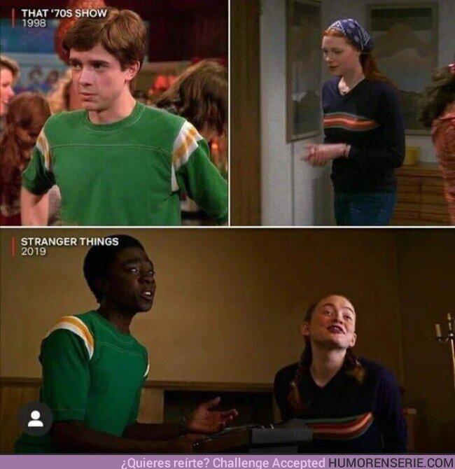 54367 - En 'Stranger Things 3', Lucas y Max se visten igual que Eric y Donna en 'That 70s Show'