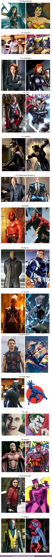 54479 - GALERÍA: Mira cómo se ven de diferentes estos 15 personajes en los cómics y en las películas