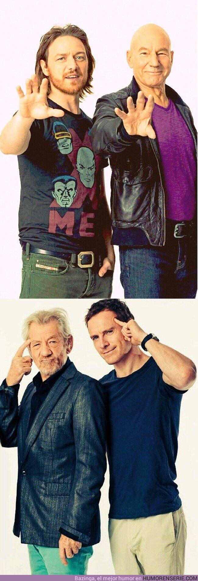54512 - Si tenéis que elegir, ¿de que equipo sois? ¿Charles o Magneto?