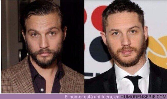 54846 - Supongo que no soy la única que ve a Tom Hardy y Logan Marshall casi idénticos con barba, no?