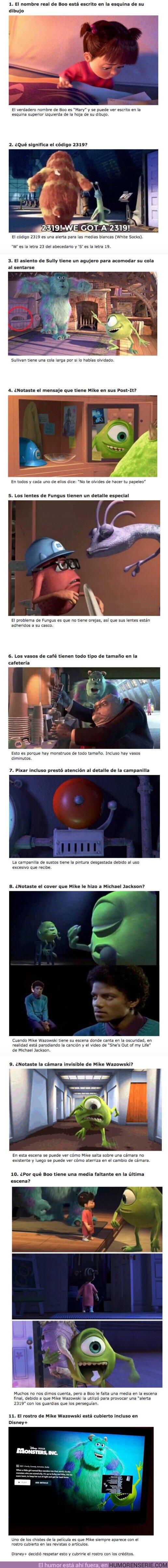 """55218 - GALERÍA: 10 Detalles inteligentes que Pixar escondió en """"Monsters Inc"""""""