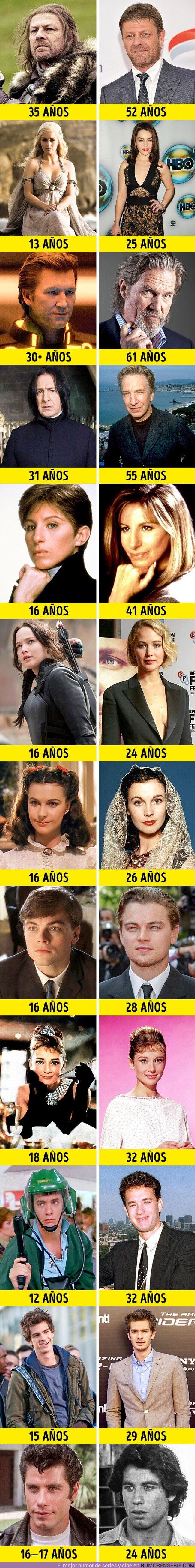 55376 - GALERÍA: 11 Actores que se transformaron en personajes mucho más jóvenes que ellos