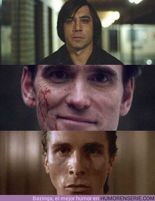 55557 - ¿Cuál es el mejor psicópata de la historia del cine?