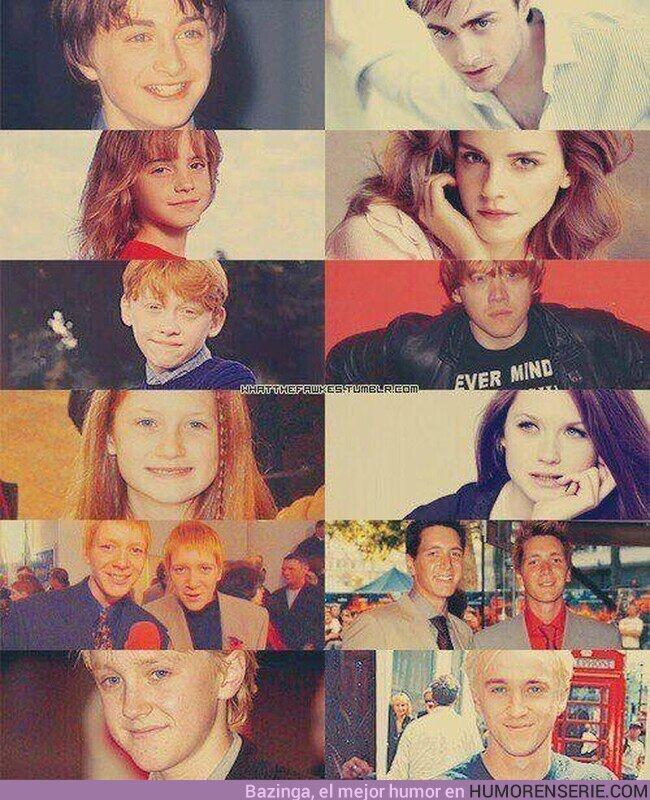 56071 - La evolución del cast de Harry Potter