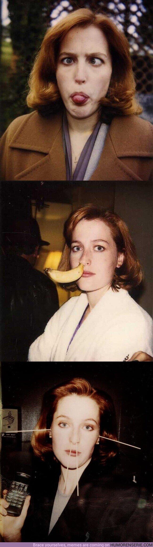 56104 - 52 años de Gillian Anderson, nuestra agente Scully