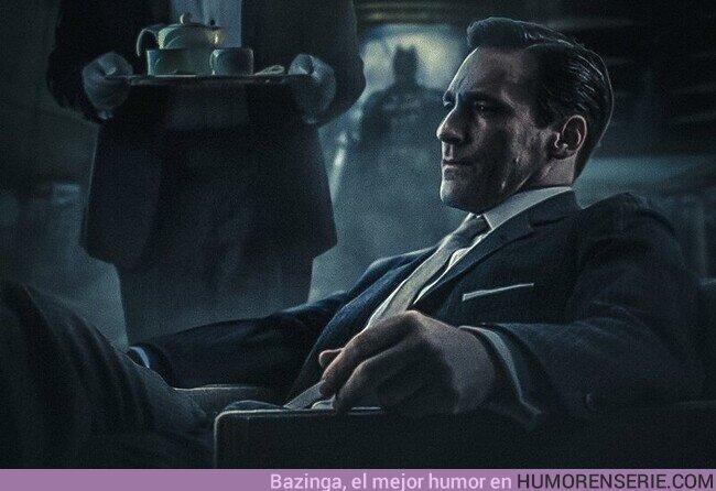 56167 - Jon Hamm como Bruce Wayne / Batman sería mi candidato favorito