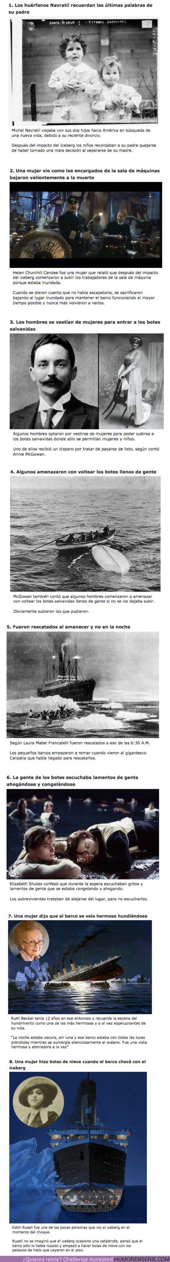 56188 - GALERÍA: 10 Sobrevivientes del Titanic describieron cómo fue la noche del hundimiento desde su punto de vista