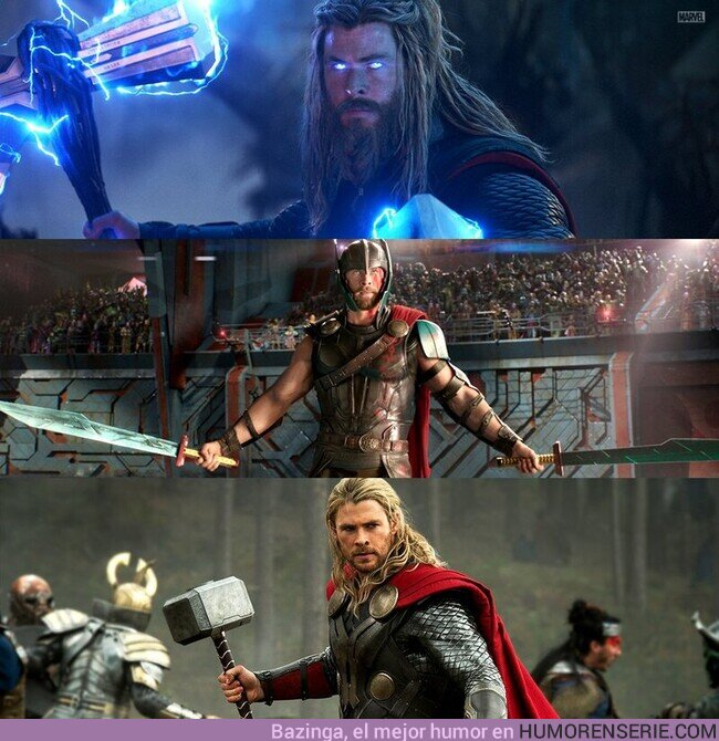 56424 - ¿Cuál es tu versión favorita de #Thor? ⚡