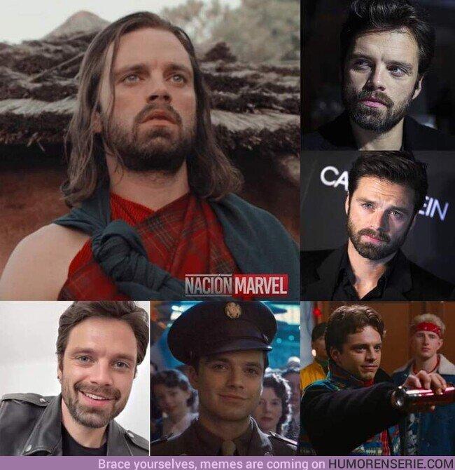 56477 - Hoy cumple años nuestro querido Bucky Barnes.¡Feliz cumpleaños Sebastian Stan! ❤️