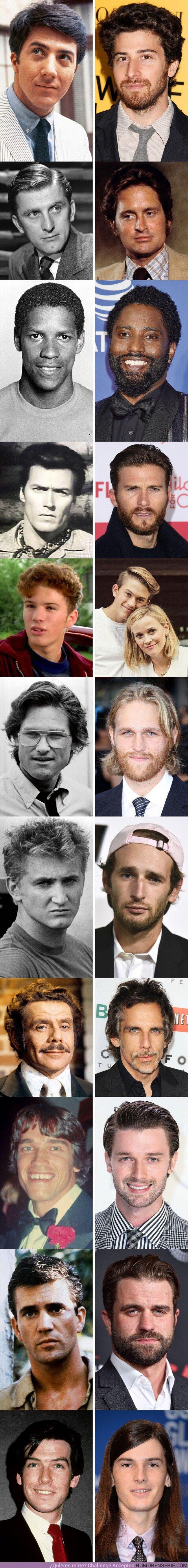 56491 - GALERÍA: 11 Hijos de actores que se parecen un montón a sus padres