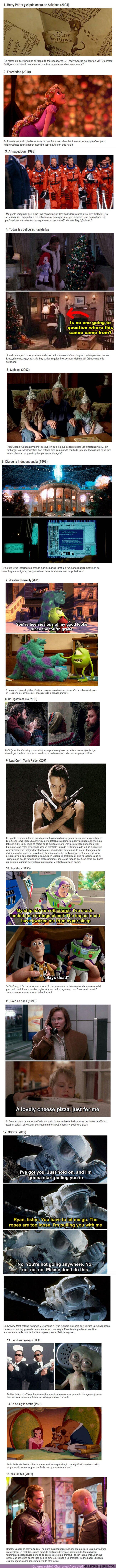 56856 - GALERÍA: 15 Errores en la trama de películas famosas que probablemente no habías notado