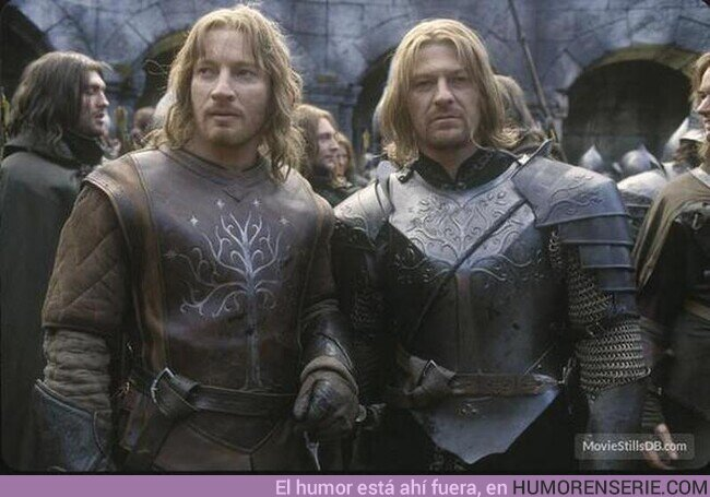 56887 - David Wenham y Sean Bean en el set de