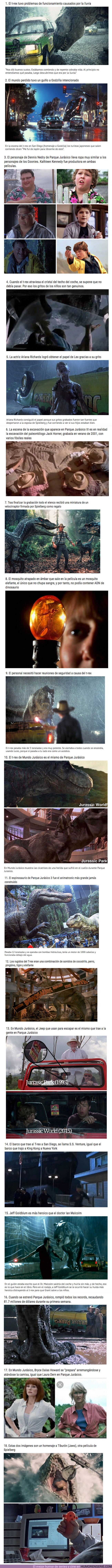 56891 - GALERÍA: 18 Detalles ocultos de las películas de Parque Jurásico que seguramente no conocías
