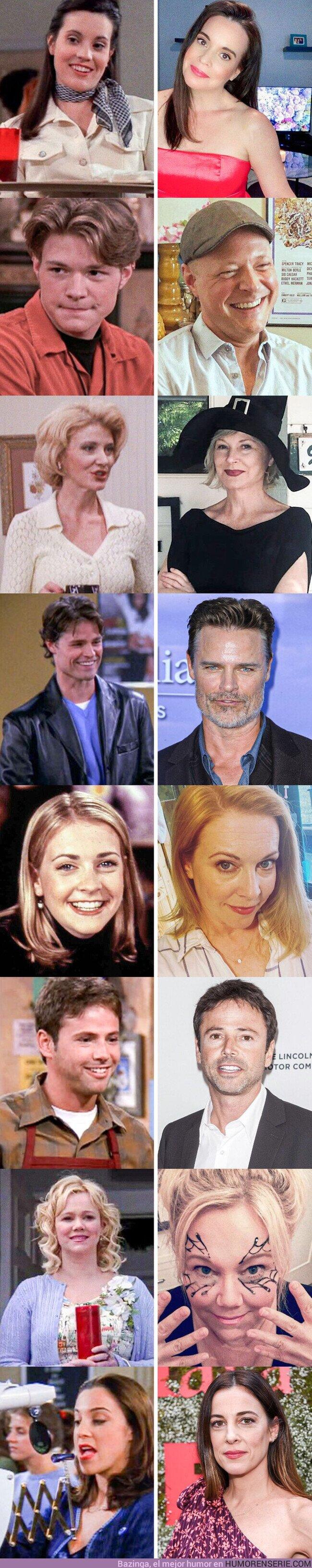 """57020 - GALERÍA: Así se ven los actores de """"Sabrina, la bruja adolescente"""" el día de hoy"""