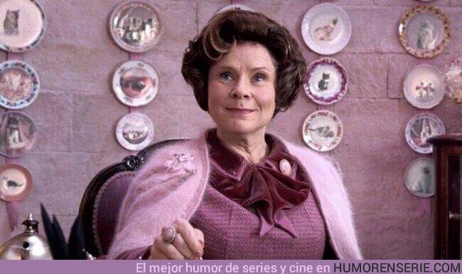 57043 - 26 de agosto: ¡Feliz cumpleaños a la persona más odiada de la saga Harry Potter: Dolores Umbridge!