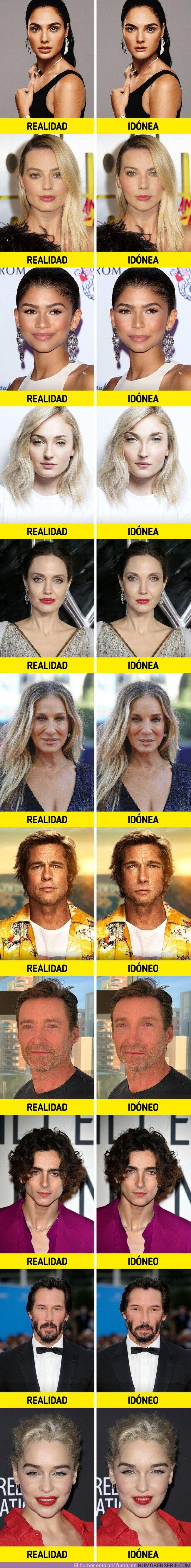 57213 - GALERÍA: Cómo se verían 15 actores si su cara se ajustara a la proporción áurea