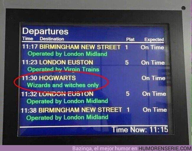 57335 - Mientras tanto, en la estación de King's Cross de Londres