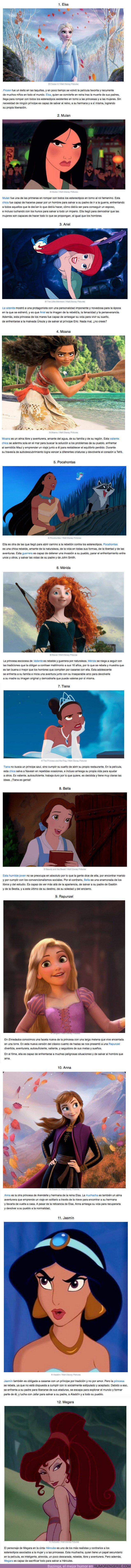 57490 - GALERÍA: 12 Princesas de Disney que le dijeron adiós a una imagen desvalida y se convirtieron en heroínas