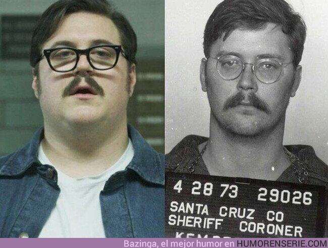 57521 - El asesino serial Ed Kemper, en la serie #Mindhunter y en la vida real