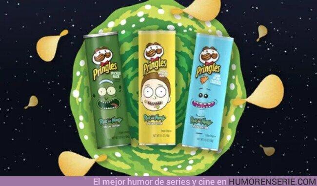 57699 - Nuevas Pringles inspiradas en Ricky y Marty en Wallmart