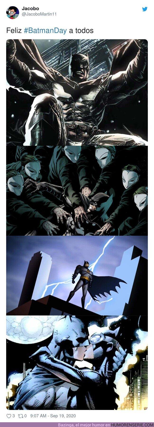 57879 - Feliz BatmanDay de los comics, por @JacoboMartin11
