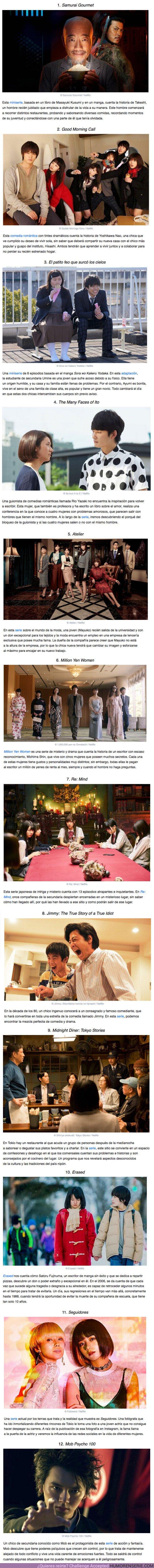 58150 - GALERÍA: 12 Series japonesas que nos hicieron perder la noción del tiempo y que se pueden encontrar en Netflix
